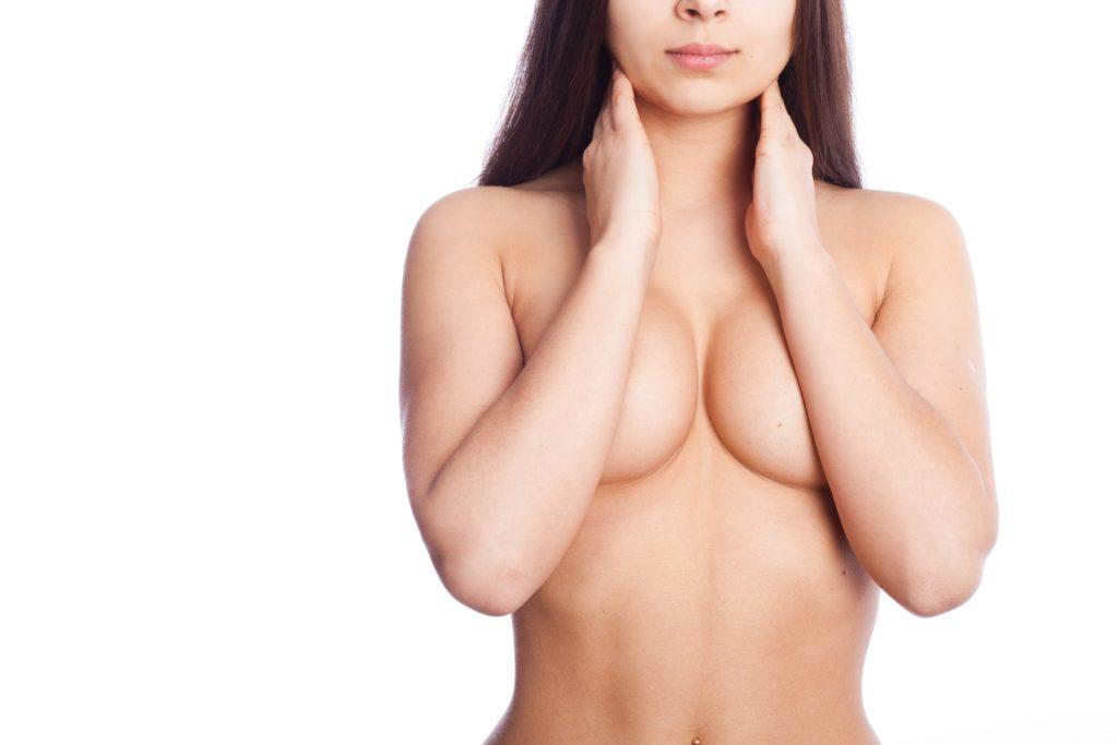 woman posing nude